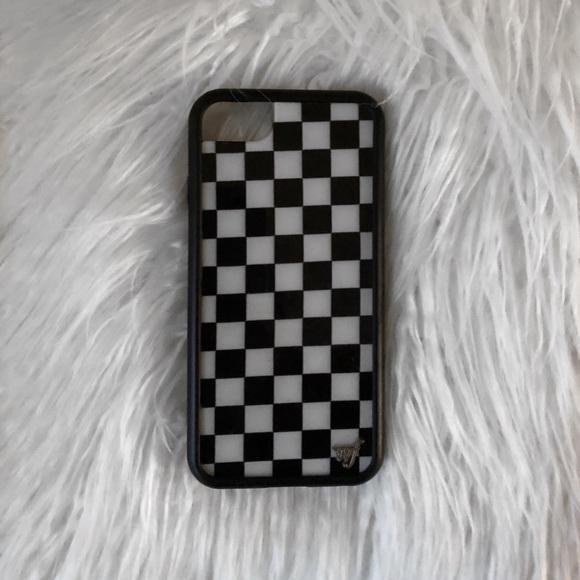 new concept a9ba7 16e28 Wildflower Checkered Case Check Plz IPhone 6/7/8